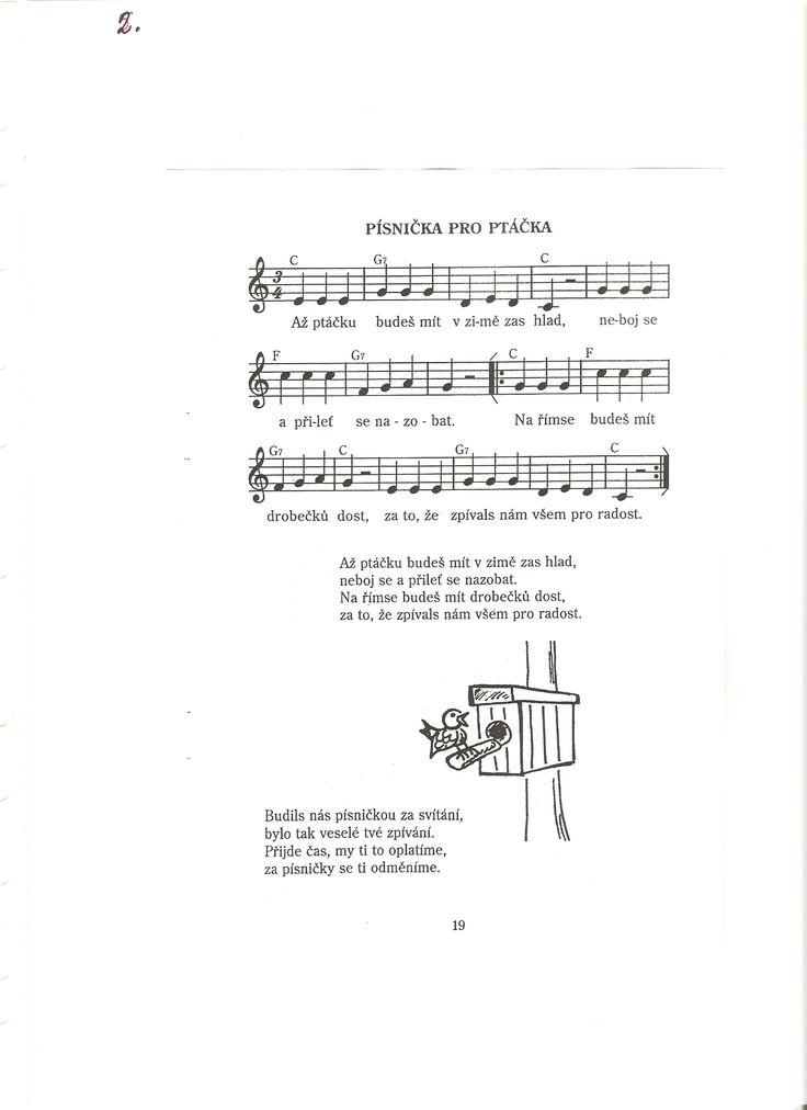 Písnička pro ptáčka
