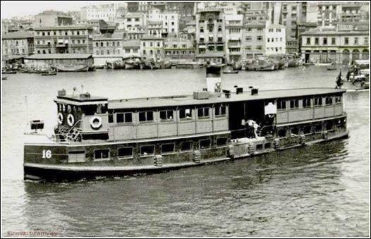 Haliç vapuru 1920-1961 yılları arası hizmet vermiştir.