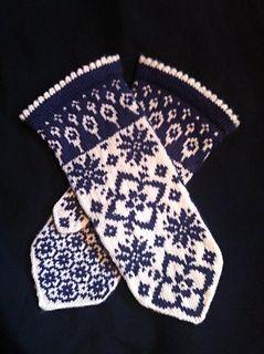 Maud mittens Pattern