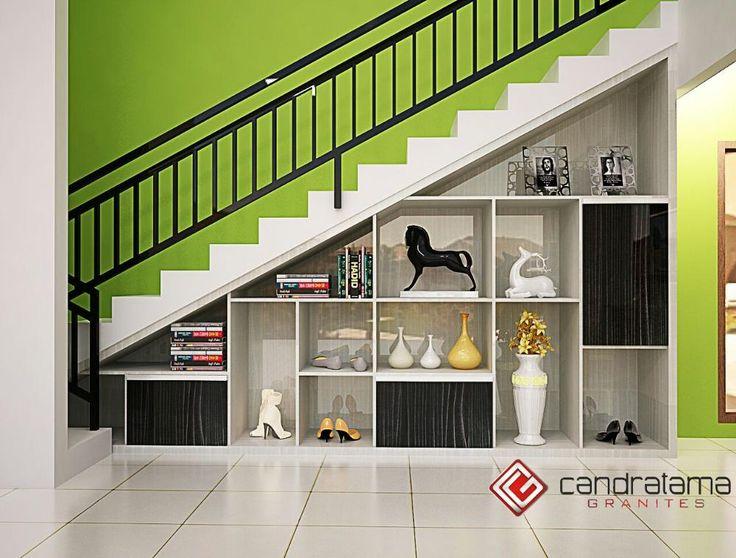 interior kediri - interior malang - interior nganjuk - interior blitar - interior jombang - interior tulungagung - interior trenggalek - lemari bawah tangga - rak - minimalis - modern
