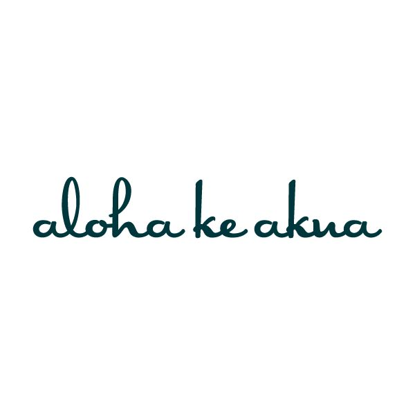 Aloha Ke Akua tattoo (God Is Love) Temporary Tattoo | Conscious Ink