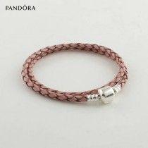 Pandora Bracelet Pas Cher Pandora Bracelets 925 Cuir d'Argent