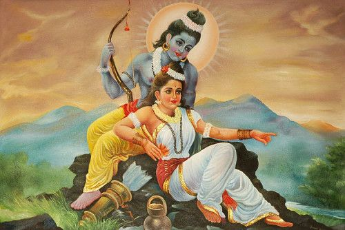 lord rama and sita