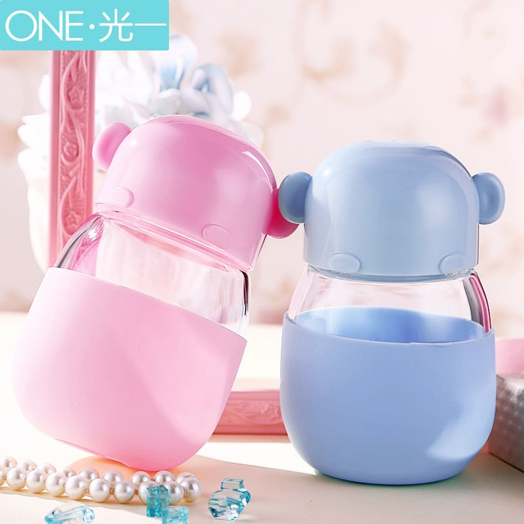 >> Click to Buy << 300ML Baby Cute Water Cup Glass Water Bottle Silicone Sleeve milk Juice Cups Portable Glass Bottles leak-proof thermos cups #Affiliate