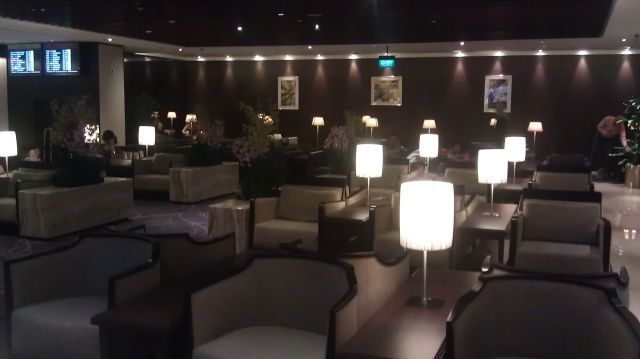 Getting Away on Miles: Singapore Air SilverKris Lounge Terminal 2 ...
