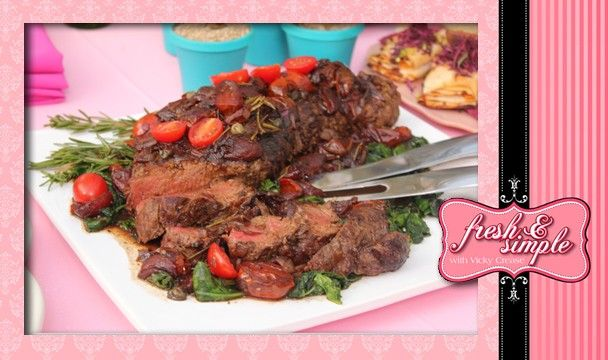 Char Grilled Whole Beef Fillet : Food : The Home Channel http://www.thehomechannel.co.za/char-grilled-whole-beef-fillet/