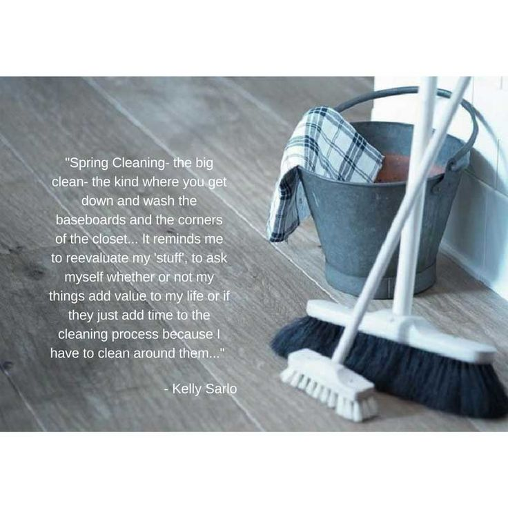 Spring Cleaning - http://bysarlo.com/spring-cleaning/