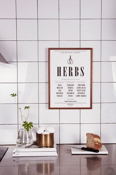 Dry things - Poster Kitchen Herbs large-3