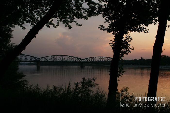 Toruń, Poland, Nicolaus Copernicus, bridge, landscape,