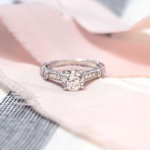 Does this diamond look a bit different to you? Well, it should! It's a Star 129 diamond, meaning it is cut with 129 facets instead of 58, which is the usual amount for round brilliants.   Joseph Jewelry   Bellevue   Seattle   Online   Design Your Own Engagement Ring