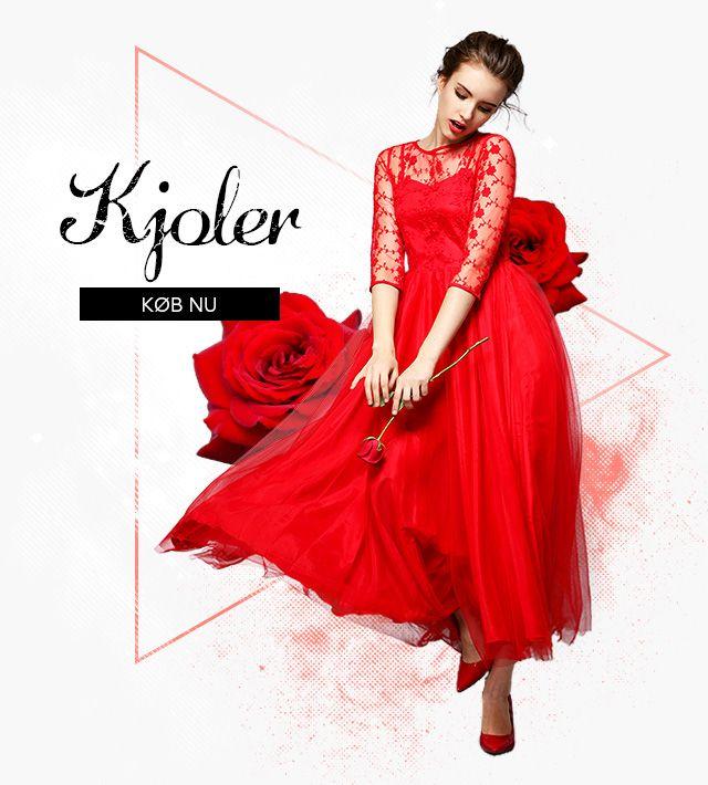 Køb den nyeste stil 2016 Brudekjoler, Brudepigekjoler og Aftenkjoler. Super Tilbud! Se vidunderlig ud på Din Store Dag!