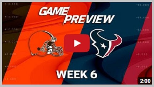 You can Watch Cleveland Browns vs Houston Texans Live Stream starts on 15.10.2017. at 17:00 UTC time in NFL, Regular Season – USA. NFL Live Stream Online…. Live Streaming Link BEREA, Oh…