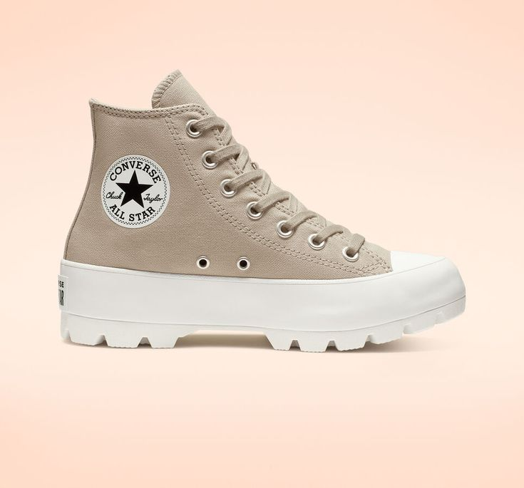 Lugged Chuck Taylor All Star Papyrus/Papyrus/White | Zapatillas ...