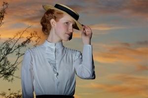 Arizona Statehood Centennial outfit (1912 shirtwaist)
