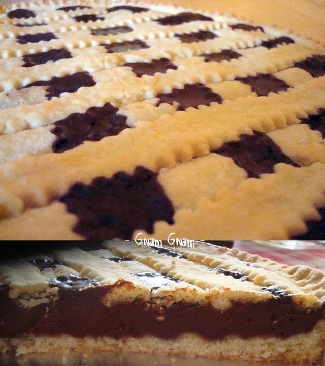 Crostata+al+cioccolato+a+modo+mio