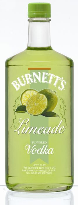 Lime and Vodka?  I've got to find a bottle of this.