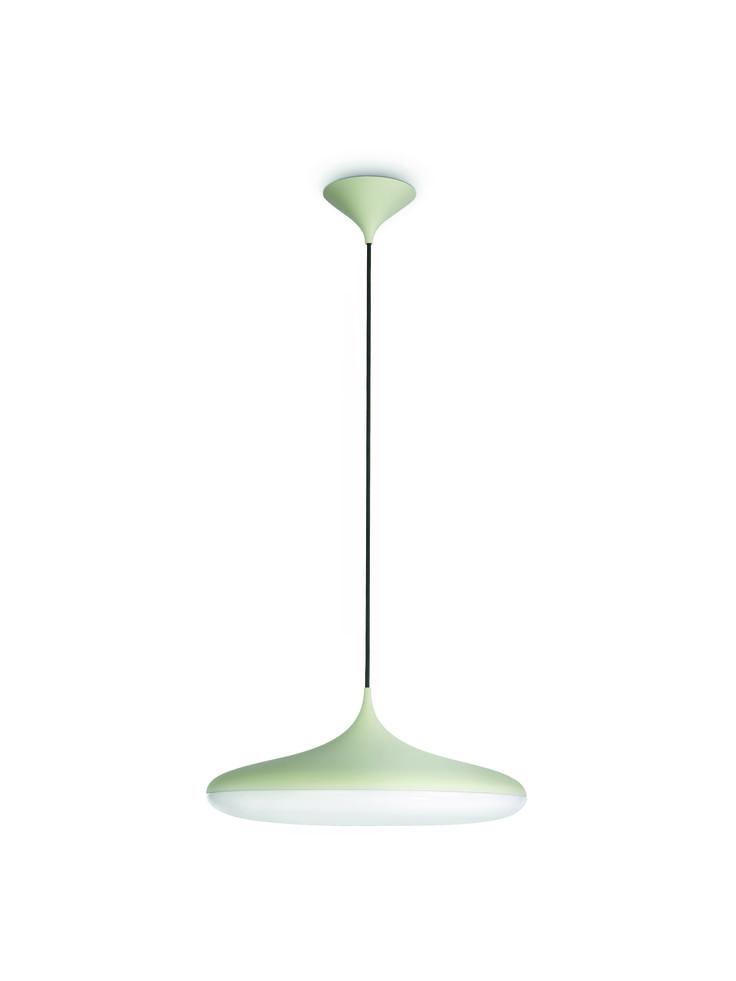 FRIENDS - lampa wisząca, beżowa, przypominająca formą kroplę wody. Niebanalna, dekoracyjna, wyróżniona za wzornictwo. Rzuca ciepłe, białe światło, pozwala oszczędzać energię i umożliwia stworzenie nowego wystroju. Minimalna wysokość - 35  cm, maksymalna wysokość - 175  cm, długość - 47,5  cm, szerokość - 47,5  cm #Philips #Lighting #oświetlenie #salonu #sypialni #kuchni #jadalni