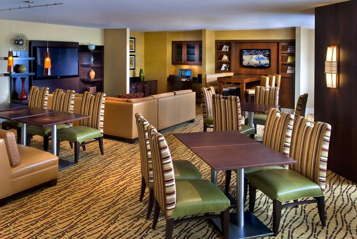 The Boston Marriott Quincy's Concierge Lounge