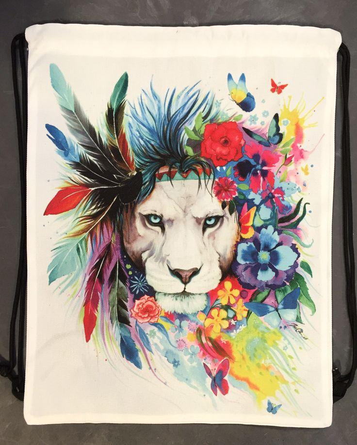King of Lions Shoulder Bag