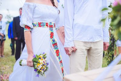 návrh svatebních šatů / wedding dress design