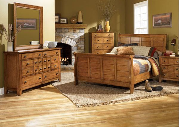 25+ best ideas about Rustic bedroom sets on Pinterest   Rustic ...