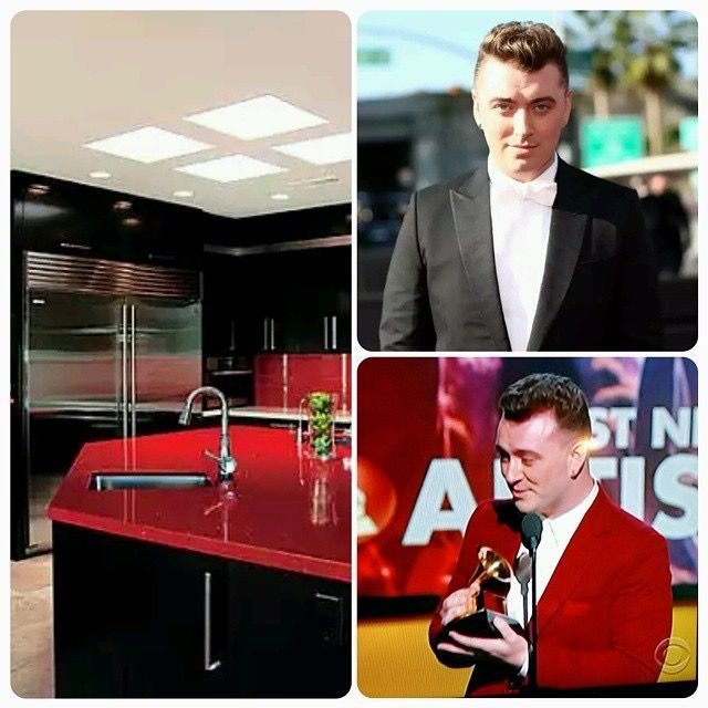 Sam Smith at the Grammys
