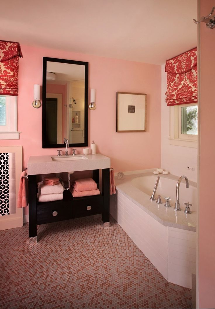 Fun For Teenage Girl Bathroom Matbathroom Ideasbathroom Designsred Bathroomscorner
