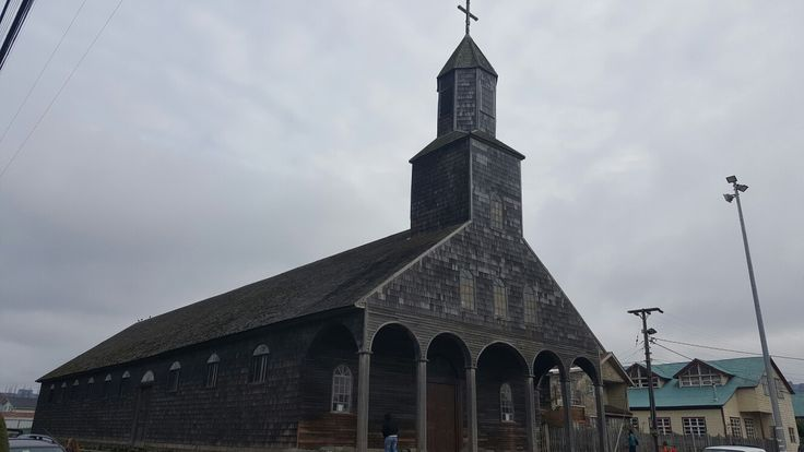 Iglesia de Achao - Isla de Quinchao - Chiloé - Chile