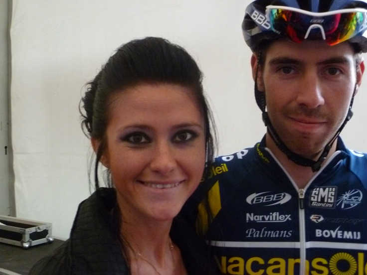 With Thomas De Gendt!