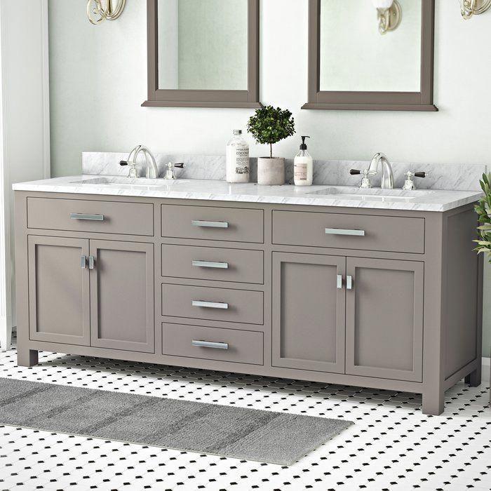 Raven 60 Double Bathroom Vanity Homedecorideasdiy Double Vanity Bathroom Bathroom Design Bathroom Layout