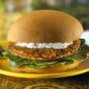 MorningStar Farms®Goat Cheese Topped Veggie Burger