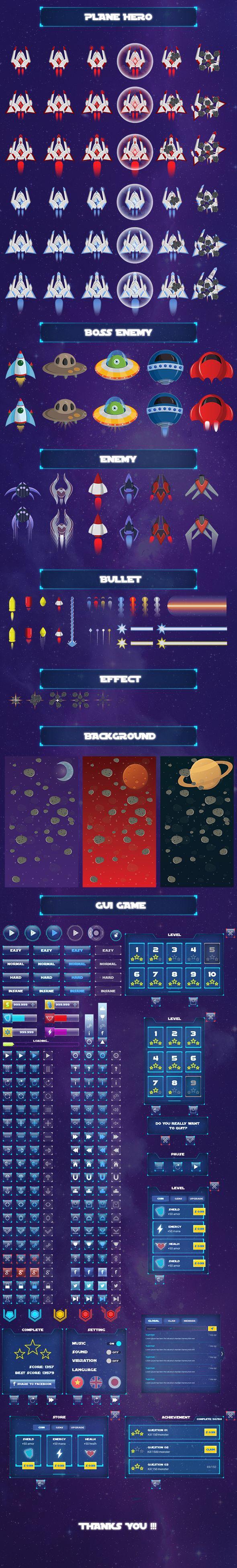 Game Asset - Galaxy Tunner on Behance
