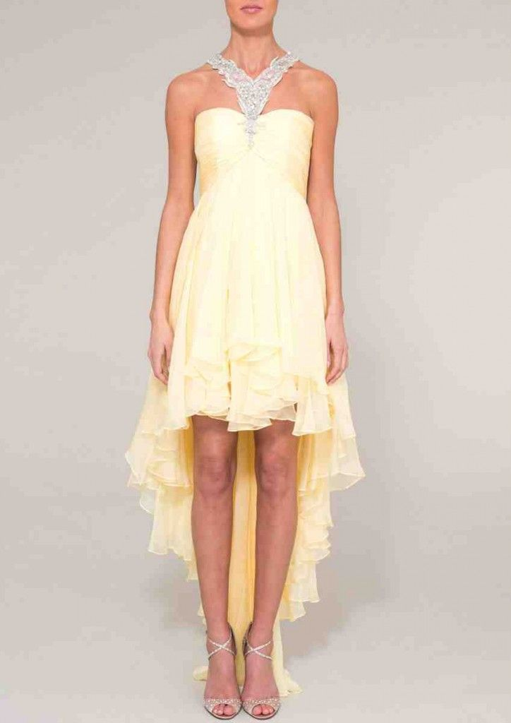 42 besten yellow bridesmaid dresses Bilder auf Pinterest | Gelbes ...