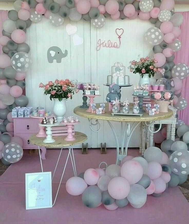 50 Cute Baby Shower Themes And Decorating Ideas For Girls 2019