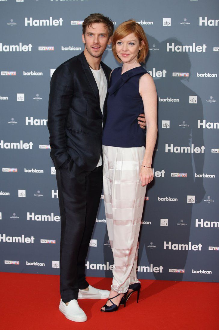 Pin for Later: Celebrity Friends Support Benedict Cumberbatch at the Hamlet Press Night Dan Stevens and Susie Hariet