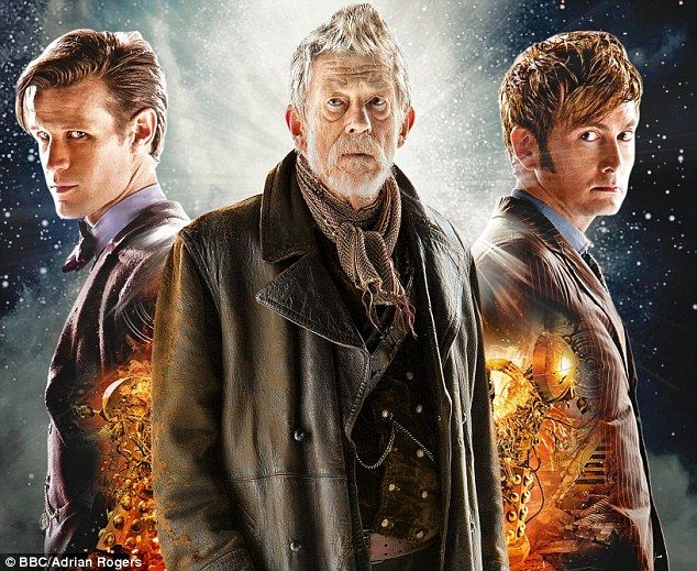 The Day of the Doctor: Matt Smith, John Hurt and David Tennant in the 50th anniversary special