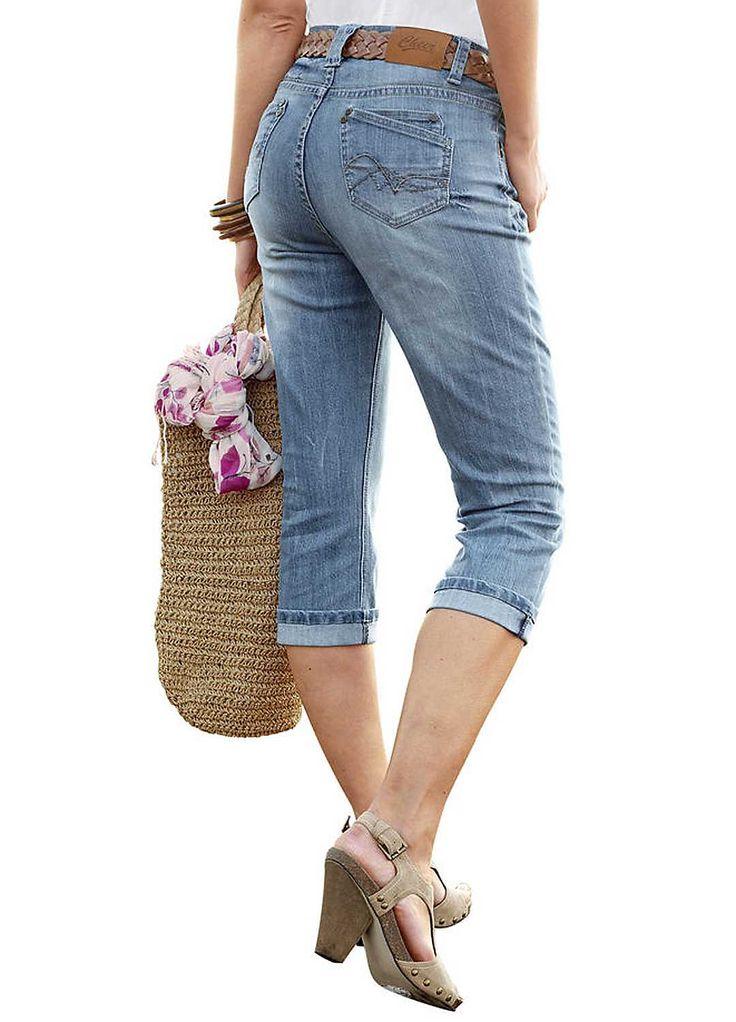 Cheer Capri Jeans
