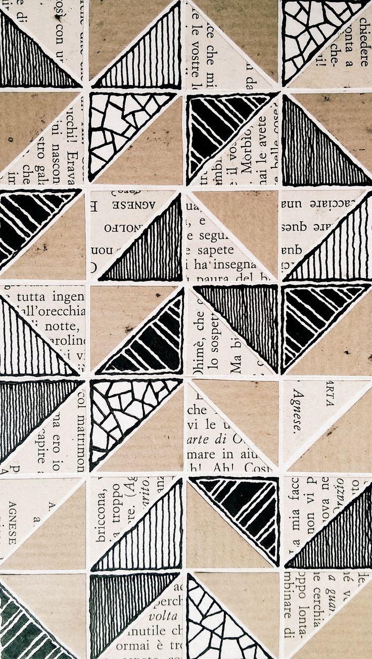 geometrische collage