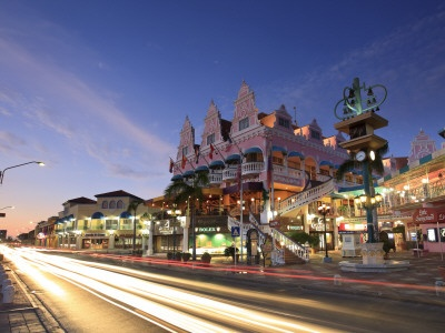 Aruba, Oranjestad Main Street
