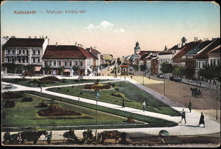 Mátyás király tér_Kolozsvár