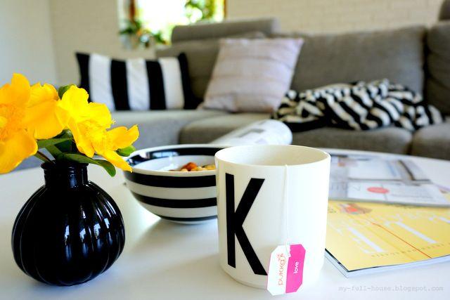 My Full House, livingroom, design letters, kahler,