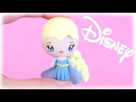 ▶ Disney's Frozen Elsa Chibi Polymer Clay Tutorial - YouTube