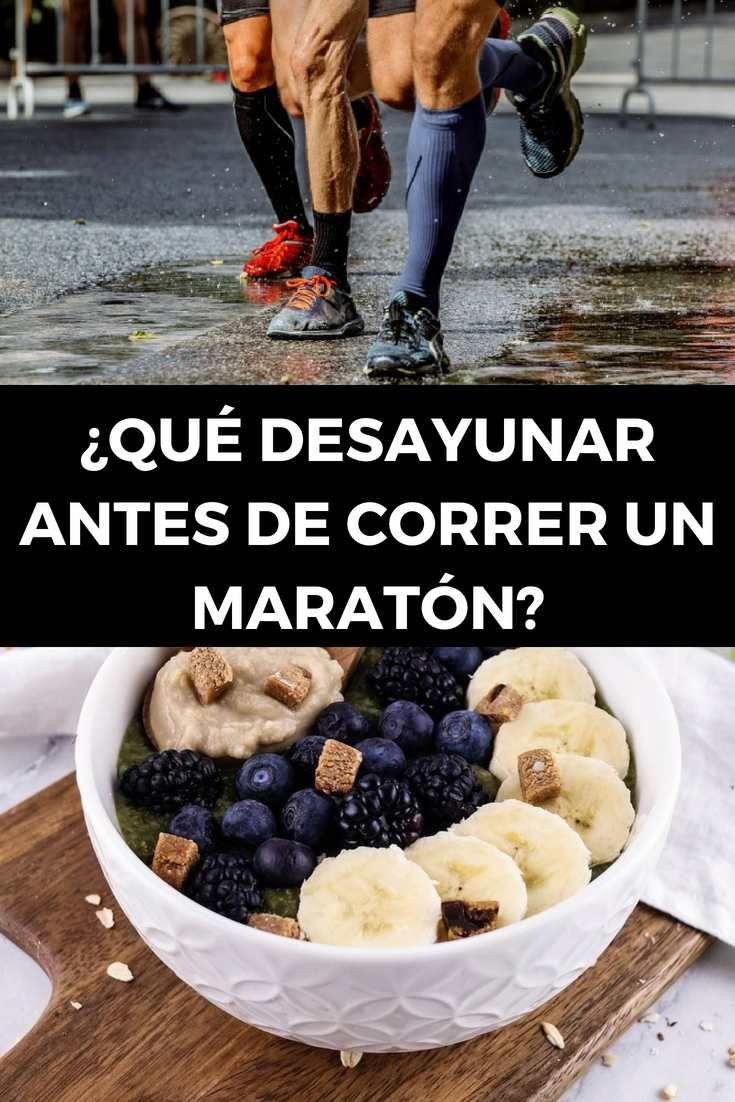 Qué Desayunar Antes De Correr Un Maratón Correr Maraton Maraton Desayuno