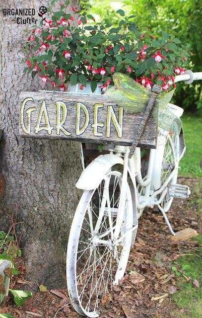 Junk Garden Tour 2016 organizedclutter.net - 1001 Best Funky Garden Junk Images On Pinterest Garden Junk, DIY