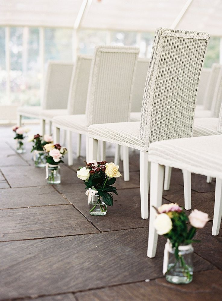 161 Best Images About Wedding Pew End Amp Aisle Ceremony Decor On Pinterest