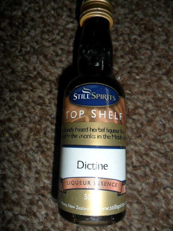still spirits top shelf  Dictine Essence  50ml by TheHomeBrewShop