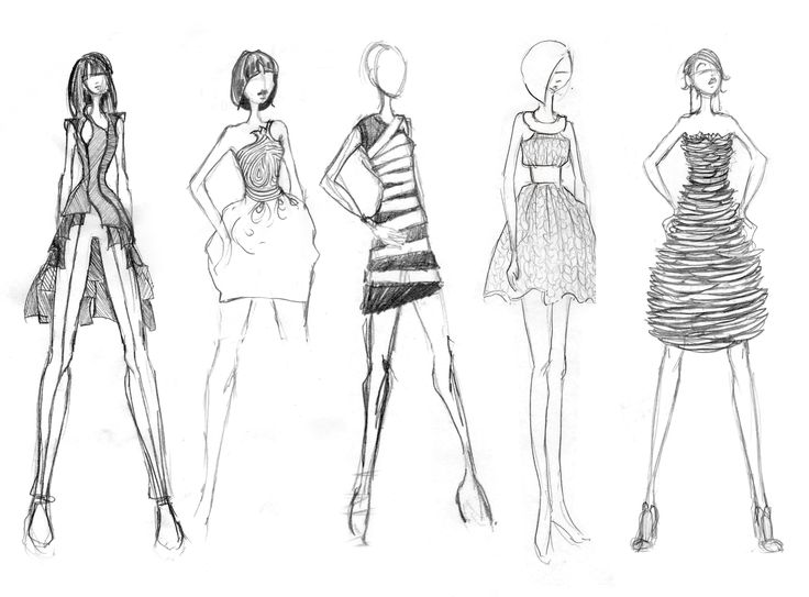 I'm learning how to make fashion sketch like this..
