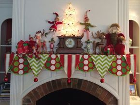 fireplace mantle cloth - Google Search