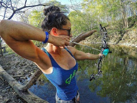 Bikini bow hunting
