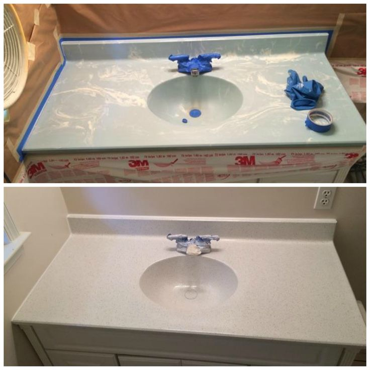 kitchen sinks with backsplash no more powder blue vanity for this customer our work 20032